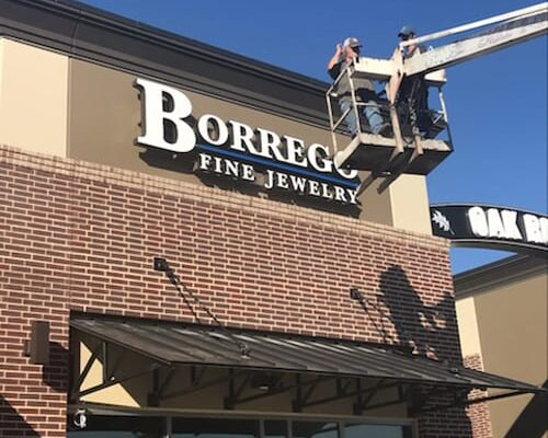 After thirty years of hard work, the Borrego name is finally up in lights.